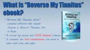 Reverse My Tinnitus ebook